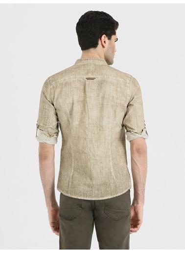 Loft Uzun Kollu Gömlek Bej